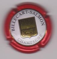 Capsule Champagne BILLECART_SALMON ( 43 ; Contour Rouge ) 6€ {S12-19} - Champagne