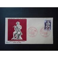 FDC - Croix Rouge. Joueur De Flûte - 16/12/1967 Dieppe - FDC