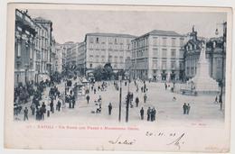 NAPOLI, 2 Cartoline, Ediz. RICHTER N°377 E 367  - F.p. - Fine '1800 - Napoli