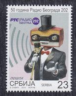 Serbia 2019 Radio Beograd 202 - 50 Years, MNH (**) - Serbie