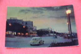 Rimini Lungomare Di Sera Con Auto VW Maggiolino 1958 - Autres Villes