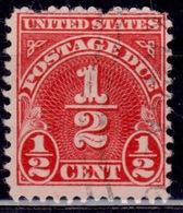United States, 1931, Postage Due, 1/2c, Sc#J79, Used - Postage Due