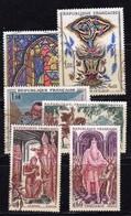 1966 - FRANCIA-cat Yvert E Tellier N° 1492-1493-1494-1495-1496-1497 - Usati - France