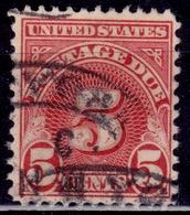 United States, 1931, Postage Due, 5c, Sc#J83, Used - Postage Due
