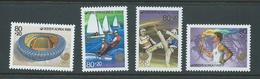 South Korea 1988 Seoul Olympics October 80w + 20w Surtax Set Of 4 MNH - Korea, South