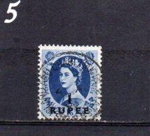 PO Eastern Arabia 1957 Elizabeth 1R On 1/6 Used - Grande-Bretagne (ex-colonies & Protectorats)