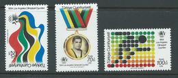 Turkey 1984 Los Angeles Olympic Games Surtax Set Of 3 MNH - Turkey