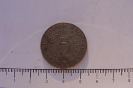 5 Mark 1951 J (45) - [ 7] 1949-… : RFA - Rép. Féd. D'Allemagne