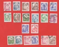 1980 - 1992 (1528-1530H) Castelli D'Italia In Bobinala Serie Completa Con Coppie - Leggi Messaggio Del Venditore - 1971-80: Oblitérés