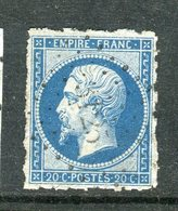 Superbe N° 14B Percé En Lignes - Cachet PC 3125 - 1853-1860 Napoléon III