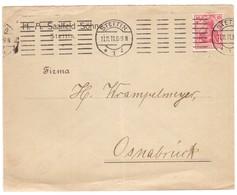 YN271   Deutsches Reich 1911 - Brief Stettin Nach Osnabrück - Deutschland