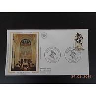 FDC - Grande Synagogue De La Victoire - 07/02/1988 Paris - FDC