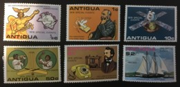 ANTIGUA - MH* - 1976 - # 453/458 - 1960-1981 Ministerial Government