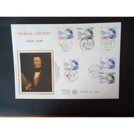 FDC Grand Format -  France Pologne, Frédéric Chopin, Oblit 17/10/99 - FDC