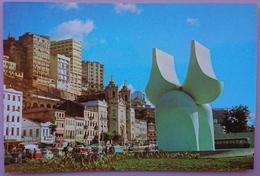 SALVADOR DE BAHIA - Fonte Da Rampa Do Mercato Opra Do Famoso Escultor Mario Cravo Junior - Brasil    Nv - Salvador De Bahia