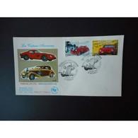 FDC - Ferrari 250 GTO Et Hispano Suiza K6 - Oblit 5/5/2000 Annecy - FDC