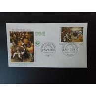 FDC - Tableau Pieter Bruegel L'ancien - Oblit //2001 - FDC