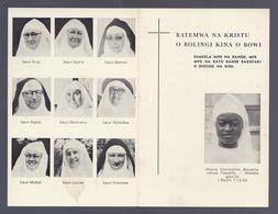 BATEMWA NA KRISTU O BOLINGI KINA O BOWI SAMBELA MPO NA BANGO ... MAMA CLEMENTINA ANUARITE JAMAA TAKATIFU + 1964 - Images Religieuses