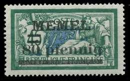 MEMEL 1920 Nr 25b Ungebraucht X8863BE - Memel (Klaïpeda)