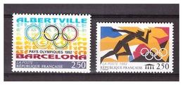 France 1992 Olympics Barcelona Rings Running MNH - Zomer 1992: Barcelona