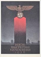 Propaganda Card  Reproduction 1936 Nurnburg Rally - Storia Postale