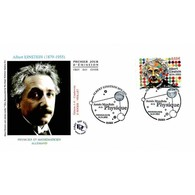 FDC - Albert Einstein, Physicien - 16/4/2005 Paris - FDC