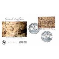 FDC - Grotte De Rouffignac - Oblit St Cernin De Reilhac 27/5/06 - FDC
