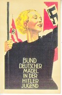 Propaganda Card  Reproduction   Maiden Of The Hitler Youth - Deutschland