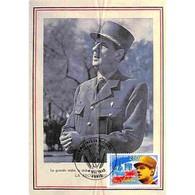 Carte Premier Jour - De Gaulle, Victoire Du 8 Mai 1945 - 8/05/1995 Paris - 1990-99