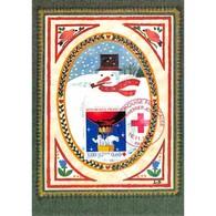 Carte Premier Jour - Croix Rouge 1996 - Louise Deletang - 16/11/1996 Paris - 1990-99