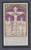 DOODSPRENTJE ZUSTER MERKX ONDERPRIORIN ORDE H. DOMINICUS ° TIENEN 1837 KLOOSTER PREEKHEERESSEN + BRUGGE 1916 - Images Religieuses