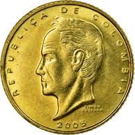 Monnaie, Colombie, 20 Pesos, 2005, SUP, Laiton, KM:294 - Colombie