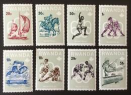 RWANDA - MNH** - 1976 - # 799/806 - Rwanda