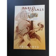 CM CEF - Pablo Casals, Violoncelliste, 29/7/2006 Prades - Maximum Cards