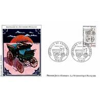FDC LNF - Centenaire De L'automobile - 6/10/1984 Paris - FDC