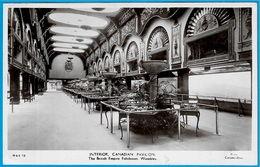 """CPA Post Card """"THE BRITISH EMPIRE EXHIBITION"""" WEMBLEY UK London ** INTERIOR CANADIAN PAVILION (Canada) - Expositions"""