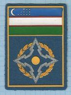 UZBEKISTAN  / Patch Abzeichen Parche Ecusson / Collective Security Treaty Organization. - Ecussons Tissu