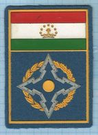 TAJIKISTAN / Patch Abzeichen Parche Ecusson / Collective Security Treaty Organization. - Ecussons Tissu