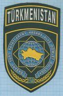 TURKMENISTAN  / Patch Abzeichen Parche Ecusson / MIGRATION SERVICE. - Blazoenen (textiel)