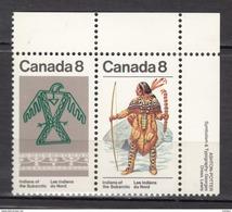 Canada, MH, Indiens D'Amérique, Amérindien, Amerindian, Tir à L'arc, Archery, Textile, Costume, Culture - Indiens D'Amérique