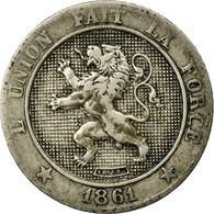 Monnaie, Belgique, Leopold I, 5 Centimes, 1861, TTB, Copper-nickel, KM:21 - 1831-1865: Léopold I