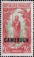 Cameroun Poste N** Yv: 97 Mi:60 Femme Bakalois (G.trop.) - Ungebraucht