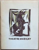 Programme Du THEATRE MARIGNY (janvier 1950), Compagnie Madeleine Renaud - Jean-Louis Barrault - Programmes
