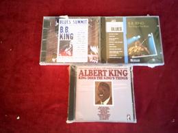 ALBERT  KING  + BB KING  COLLECTION DE 3 CD ALBUM - Blues