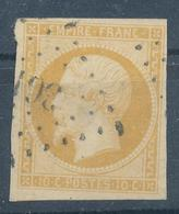 N°13 JAUNE CITRON P.C.361 INDICE 10. - 1853-1860 Napoléon III