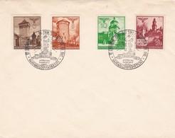 GG: Blanko-Brief Lemberg 1941, Neuer Distrikt - Besetzungen 1938-45