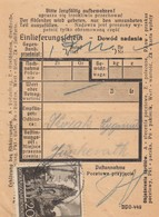 GG Formular: Einlieferungsschein DPO 449 (3.41), 20 Gr. EF, Krakau - Besetzungen 1938-45