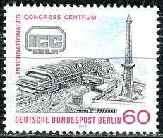 Berlin - Mi 591 - ** Postfrisch (A) - 60Pf           ICC Internationales Congress-Centrum - Unused Stamps