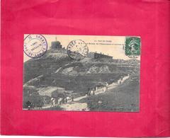 DEPT 63 - La Montée De L'Observatoire à L'arrivée Du PUY De DÔME - DELC8/BES - - Francia