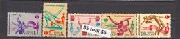 1984 Sport – Athletics 5v.-MNH  USSR - 1923-1991 URSS